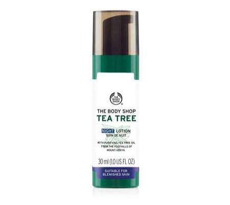 The Body Shop Tea Tree Night Lotion 1