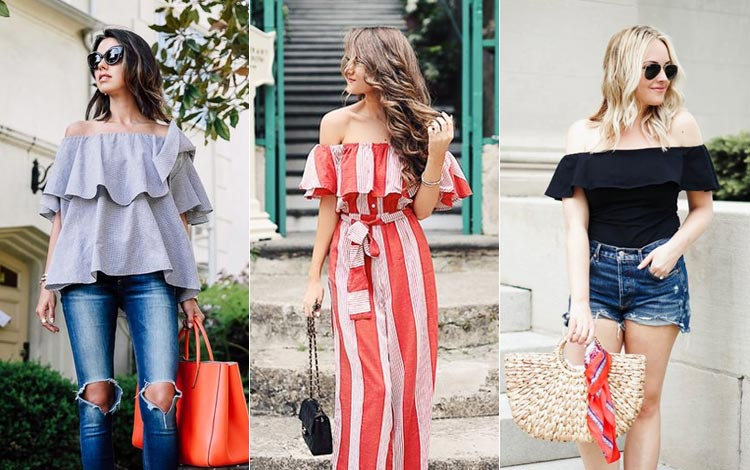 Inspirasi Outfit Baju Sabrina Yang Modis Dan Bikin Penampilanmu Makin Cantik