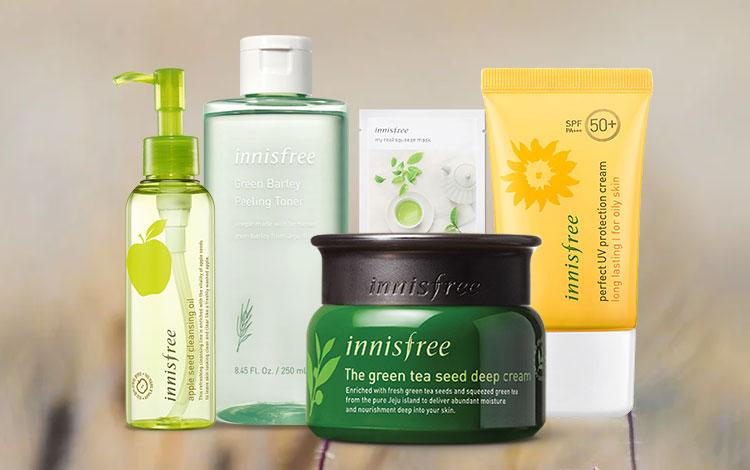 Produk Skincare Innisfree Terbaik Sesuai Jenis dan Permasalahan Kulit