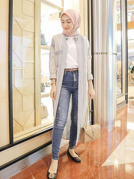 Celana skinny jeans wanita