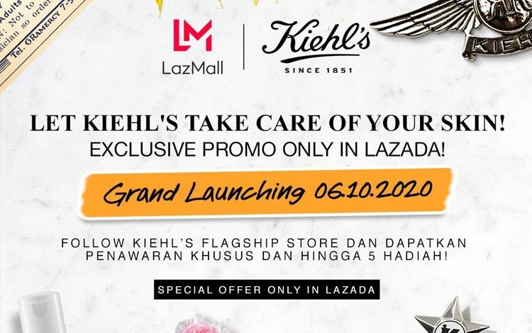 Kiehl's Online Flagship Store Grand Launching di Lazada