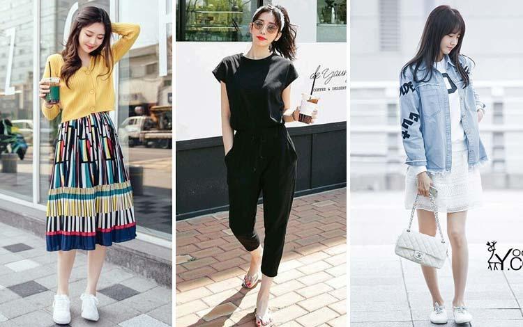 Outfit Korean Style Yang Simple Untuk Wanita Agar Tampil Kekinian dan Trendi