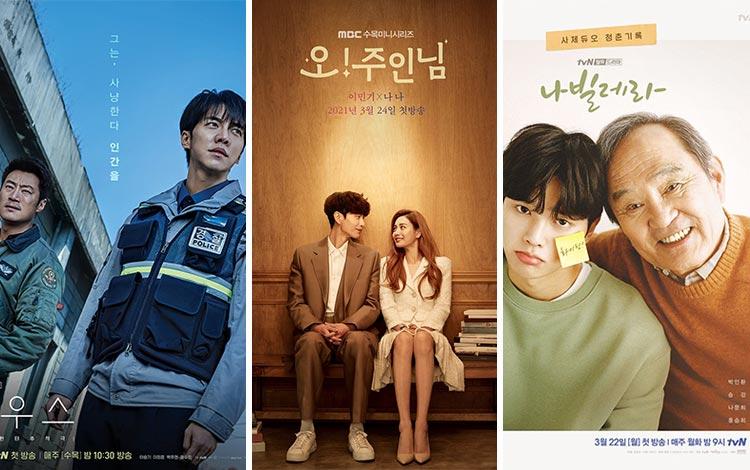 8 Drama Korea Terbaru Tayang Maret 2021 Ini