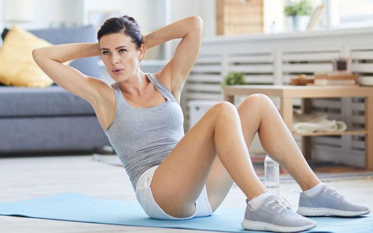 Olahraga Untuk Mengecilkan Perut yang Bisa Dilakukan di Rumah