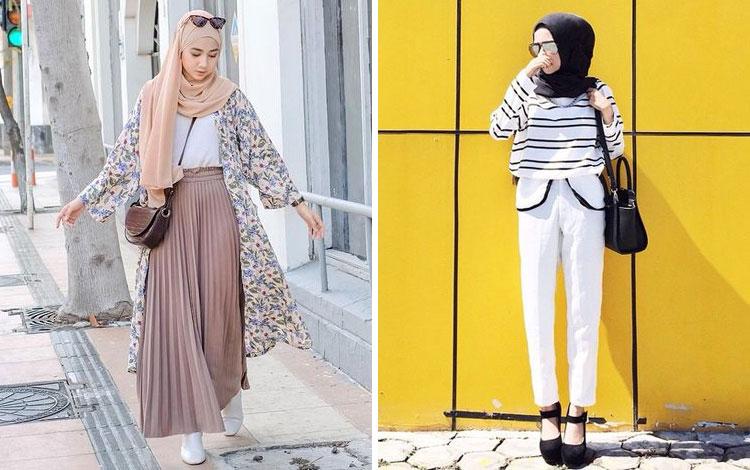 Inspirasi Outfit Hijab Kekinian Yang Modis Abis (2021)