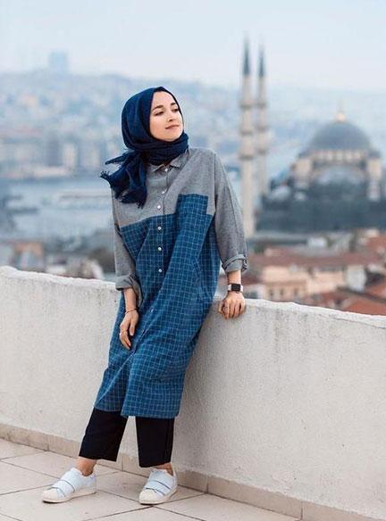 Outfit Hijab Kekinian