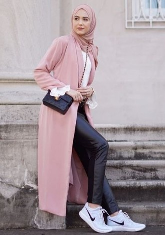 Mix and Match Outfit Pink Hijab