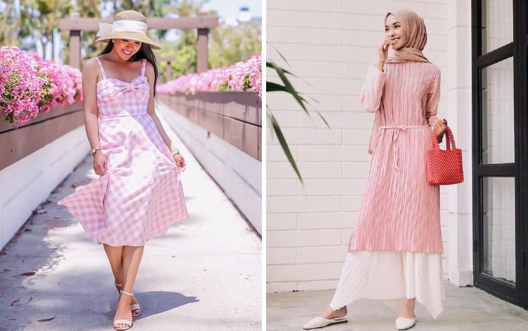 Mix and Match Outfit Warna Pink Untuk Tampil Kekinian